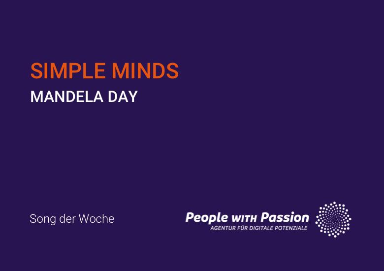 simple minds mandela day